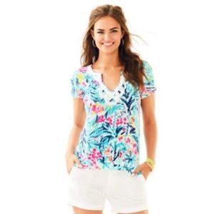 EUC Lilly Pulitzer Brewster Top